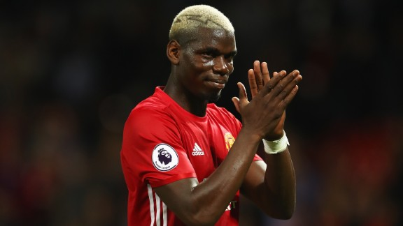 The Frenchman, 24, signed for English Premier League side Manchester United in August 2016 for $120 million.