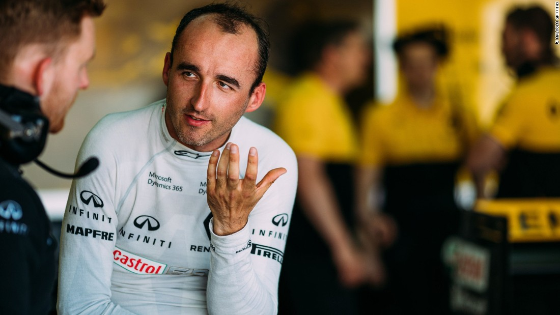 Robert Kubica completed a successful F1 test with his former team Renault at Valencia's Circuit Ricardo Tormo in June 2017.