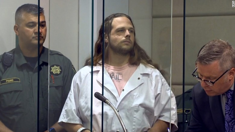 Stabbing suspect has outburst in court, again
