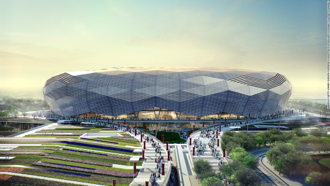 The Qatar Foundation Stadium in Doha's Education City will have an initial capacity of 40,000.
