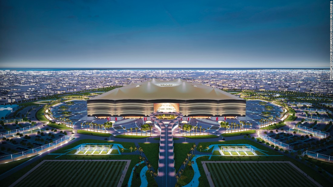 The Al Bayt Stadium will be built in the city of Al Khor to the north of Doha and have a capacity of 60,000.