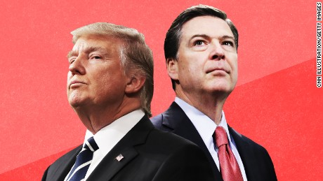 Trump now faces Comey's moral assault