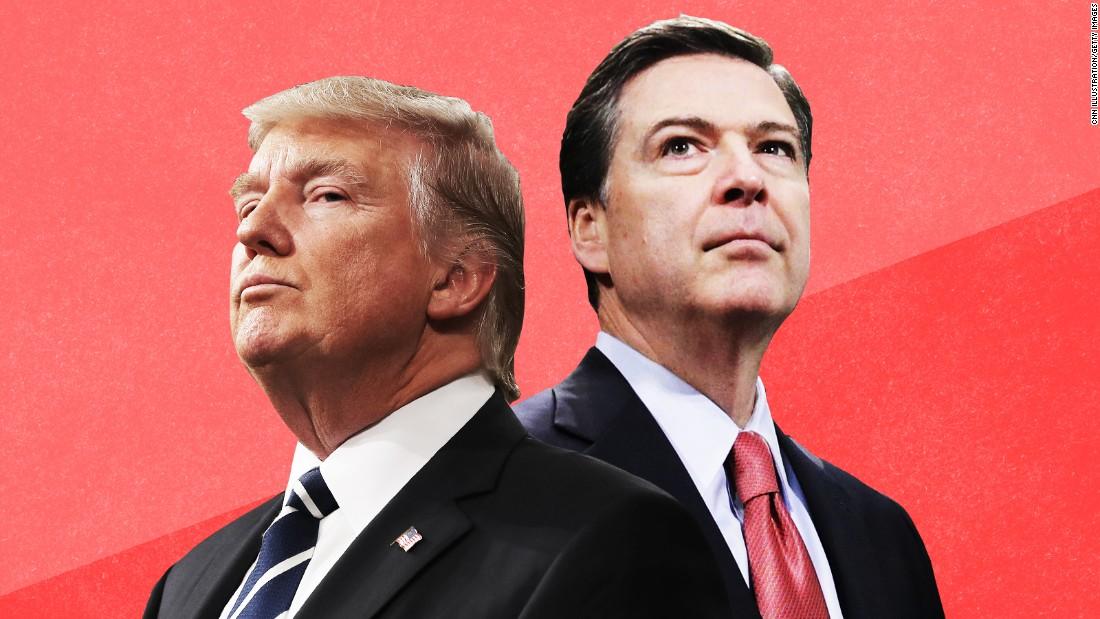 Trump now faces Comey's moral assault