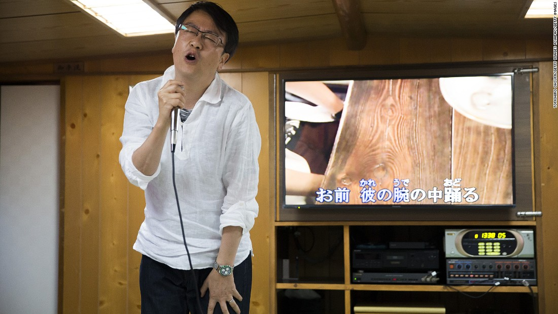 Karaoke has become a globally popular way for people to embarrass themselves in front of friends, strangers and work colleagues -- but the Japanese were doing it before anyone else. The first karaoke machine was invented in Japan in 1971, by a drummer called Daisuke Inoue, who plugged a tape player into an amplifier. It came about after a businessman asked Inoue to record on tape his favorite songs so that he could sing to them.