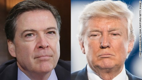James Comey just went to war with Donald Trump