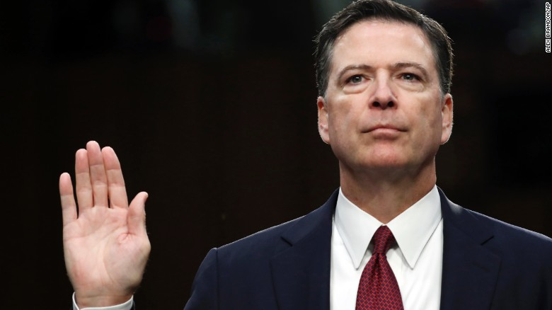 Comey's message: The President can't be trusted