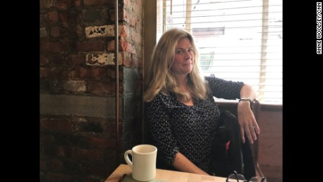 Marjorie Sweeney watched Comey's testimony from a coffee shop in Brooklyn.