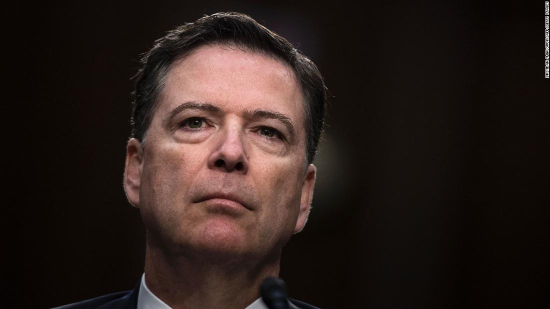 Comey pushes back on Trump's spying claims