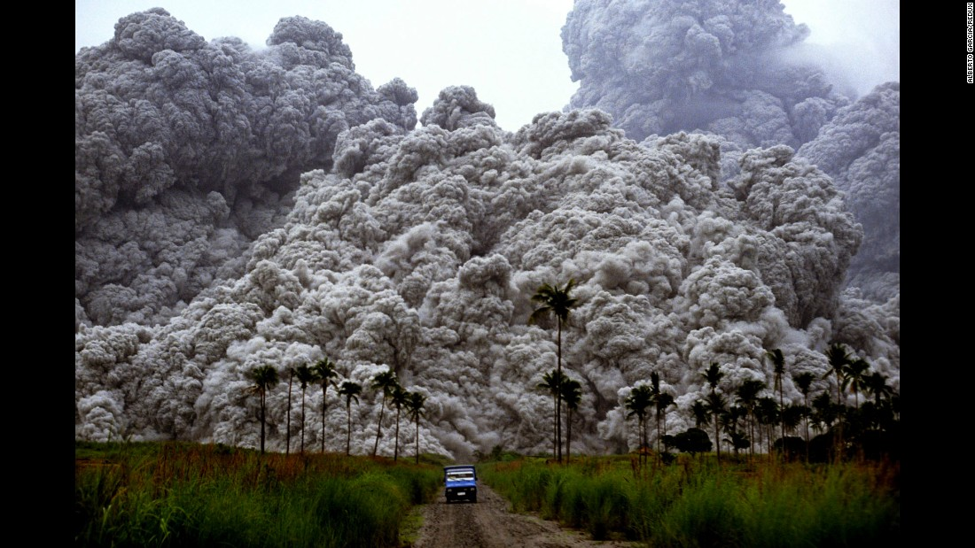 After sitting dormant for over six centuries, the Philippines' Mount Pinatubo rumbled back to life with devastating consequences on June 15, 1991. The eruption blasted hot ash 28 miles into the air and led to the deaths of 847 people, making it the most destructive eruption in the last 100 years, according to the US Geological Survey.
