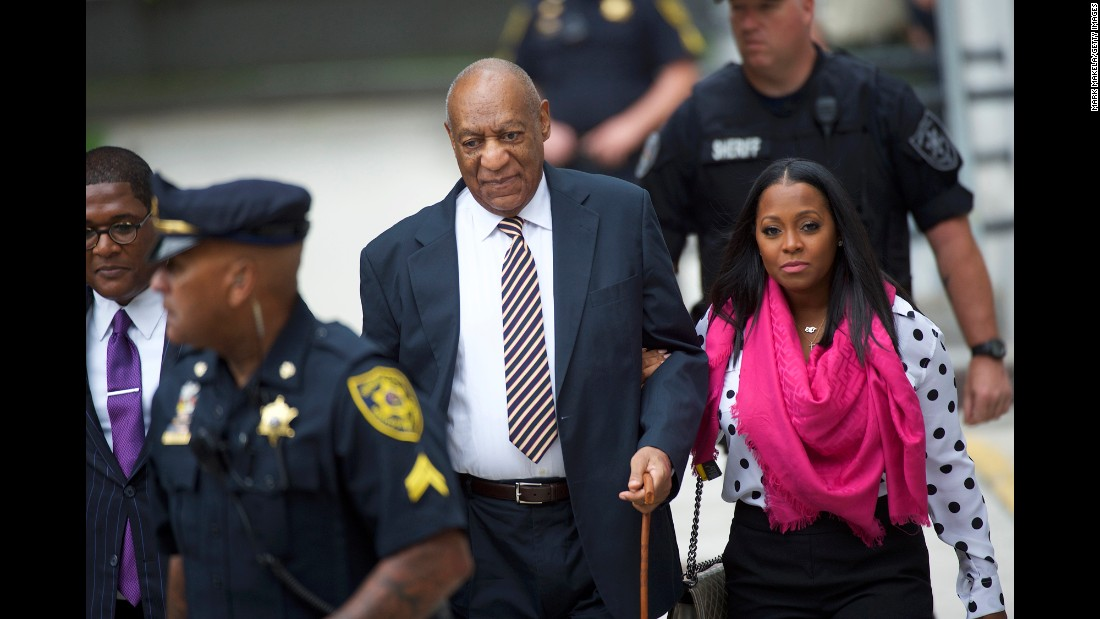 "Bill Cosby <a href=""http://www.cnn.com/2017/06/07/us/bill-cosby-trial-companions/index.html"" target=""_blank"">arrives with actress Keshia Knight Pulliam</a> at the Montgomery County Courthouse in Norristown, Pennsylvania, on Friday, June 5, before the opening of Cosby's sexual assault trial. Cosby, 79, faces <a href=""http://www.cnn.com/2017/06/08/us/bill-cosby-trial/index.html"" target=""_blank"">three counts of aggravated indecent assault</a>. The comedian has pleaded not guilty to the charges and has said he does not plan to testify."
