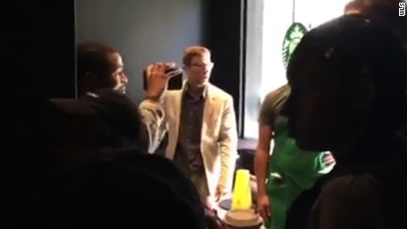 Man goes on racist rant at Starbucks, calls black man a slave