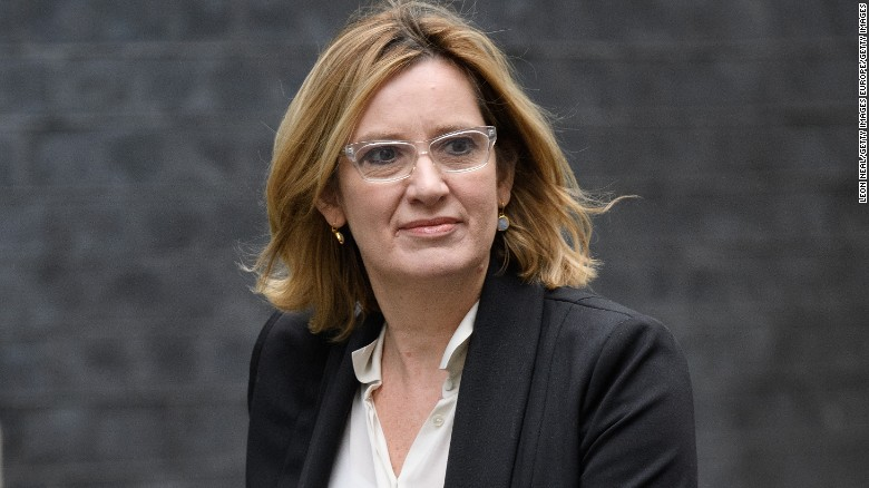 Why did Amber Rudd resign?