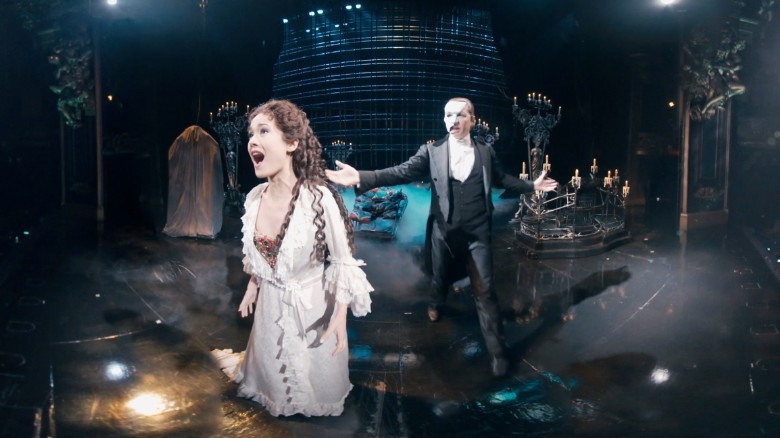 On stage with 'The Phantom of the Opera' - CNN