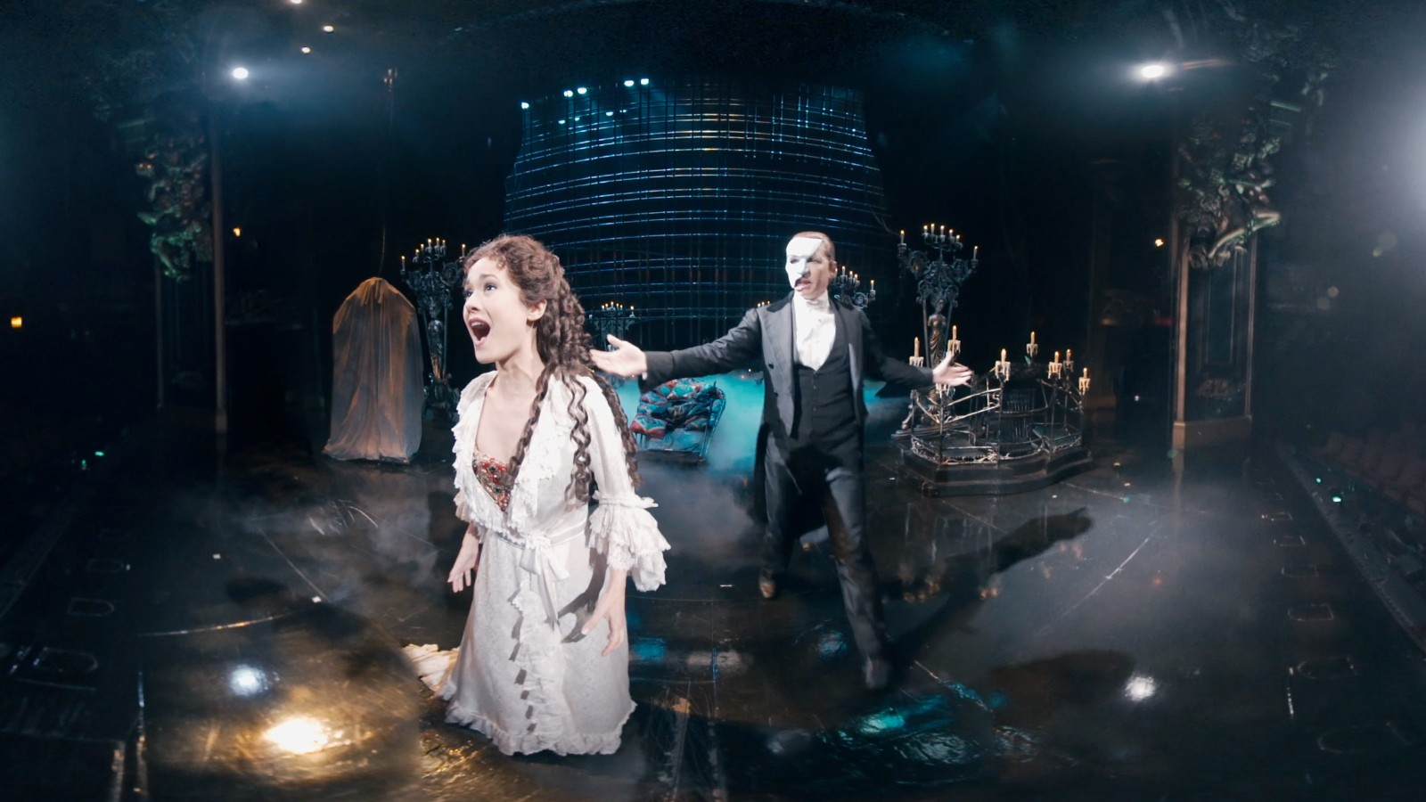 On Stage With The Phantom Of The Opera Cnn