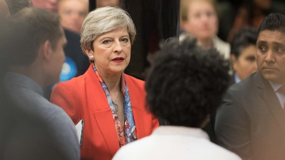 """In a speech to her constituency in Maidenhead, England, May said that """"at this time more than anything else, this country needs a period of stability."""""""
