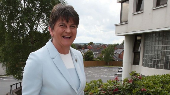DUP leader, and former Northern Ireland First Minister, Arlene Foster.