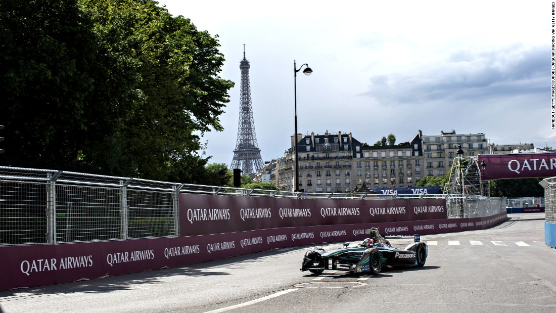 Electric racing returned to the streets of the French capital in May for the second successive year.