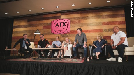 Trumped Up Panel during the 2017 ATX Festival Season 6 on Friday June 9, 2017 in Austin, TX. (Photo by: Waytao Shing)