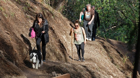 The 1-mile walk into the Big Sur community can take between 20 and 40 minutes.