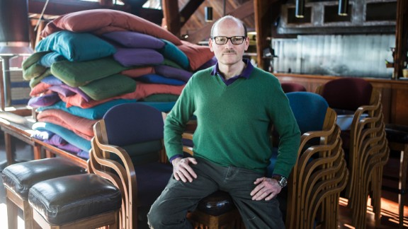 Kirk Gafill says he is optimistic the good times will return to his restaurant, Nepenthe.