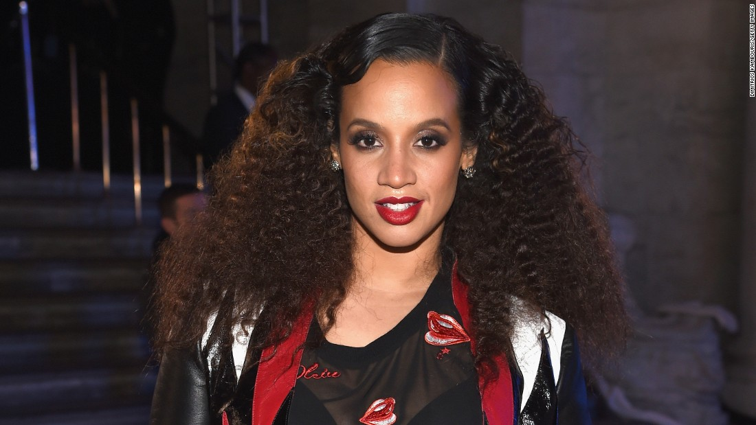 Dascha Polanco attends the Front Row for the Philipp Plein Fall/Winter 2017/2018 Women's And Men's Fashion Show at The New York Public Library on February 13, 2017.