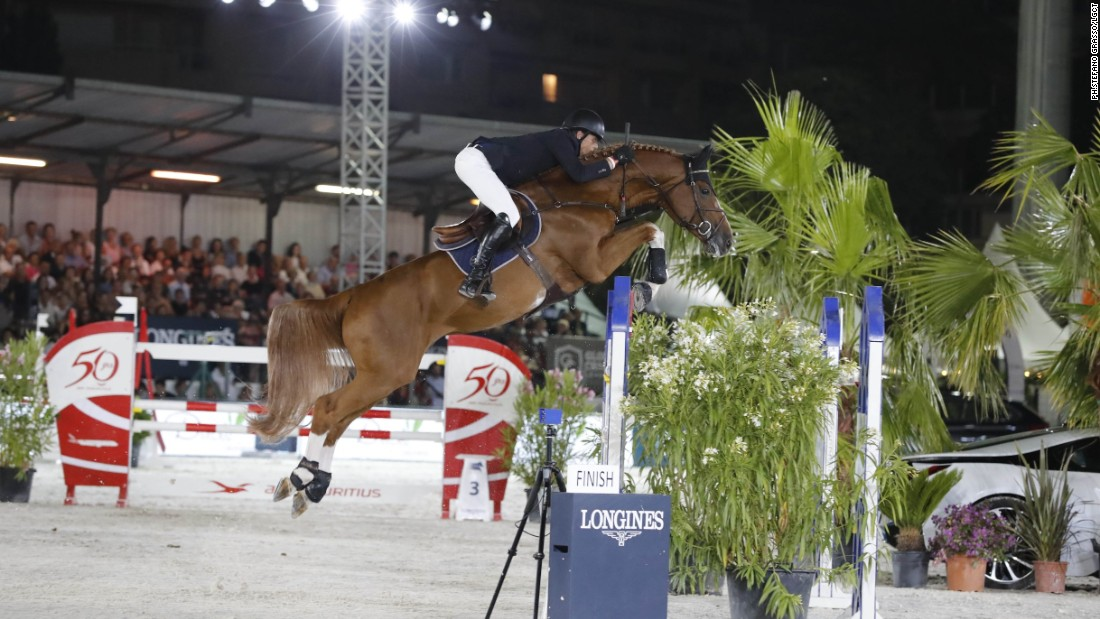 "Holland's Harrie Smolders climbed to the top of the overall LGCT leaderboard, after his clear ride atop Emerald N.O.P. <br /><br />Smolders' consistent performances have seen him overtake Italian Lorenzo de Luca, although his lead stands at a slender 17 points. ""My strength is in my horses,"" Smolders said. ""In the end the key word will be consistency ... which is not so easy."""