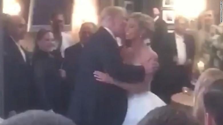 Trump Crashes Wedding.Trump Makes A Surprise Visit To A Wedding