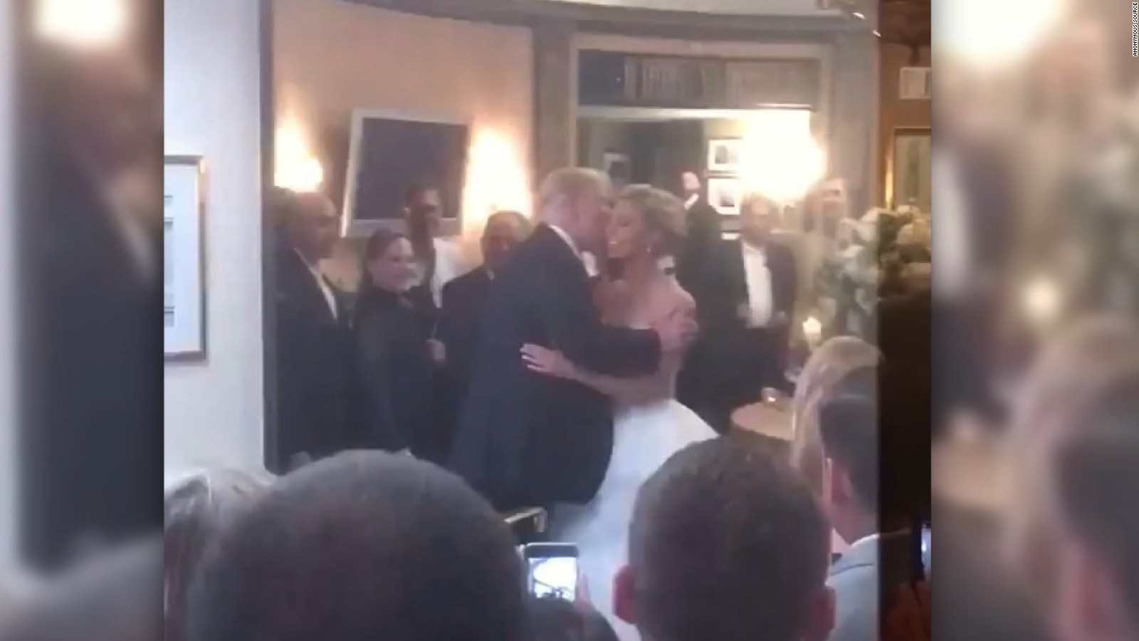 Trump Crashes Wedding.Trump Crashes New Jersey Wedding Cnnpolitics