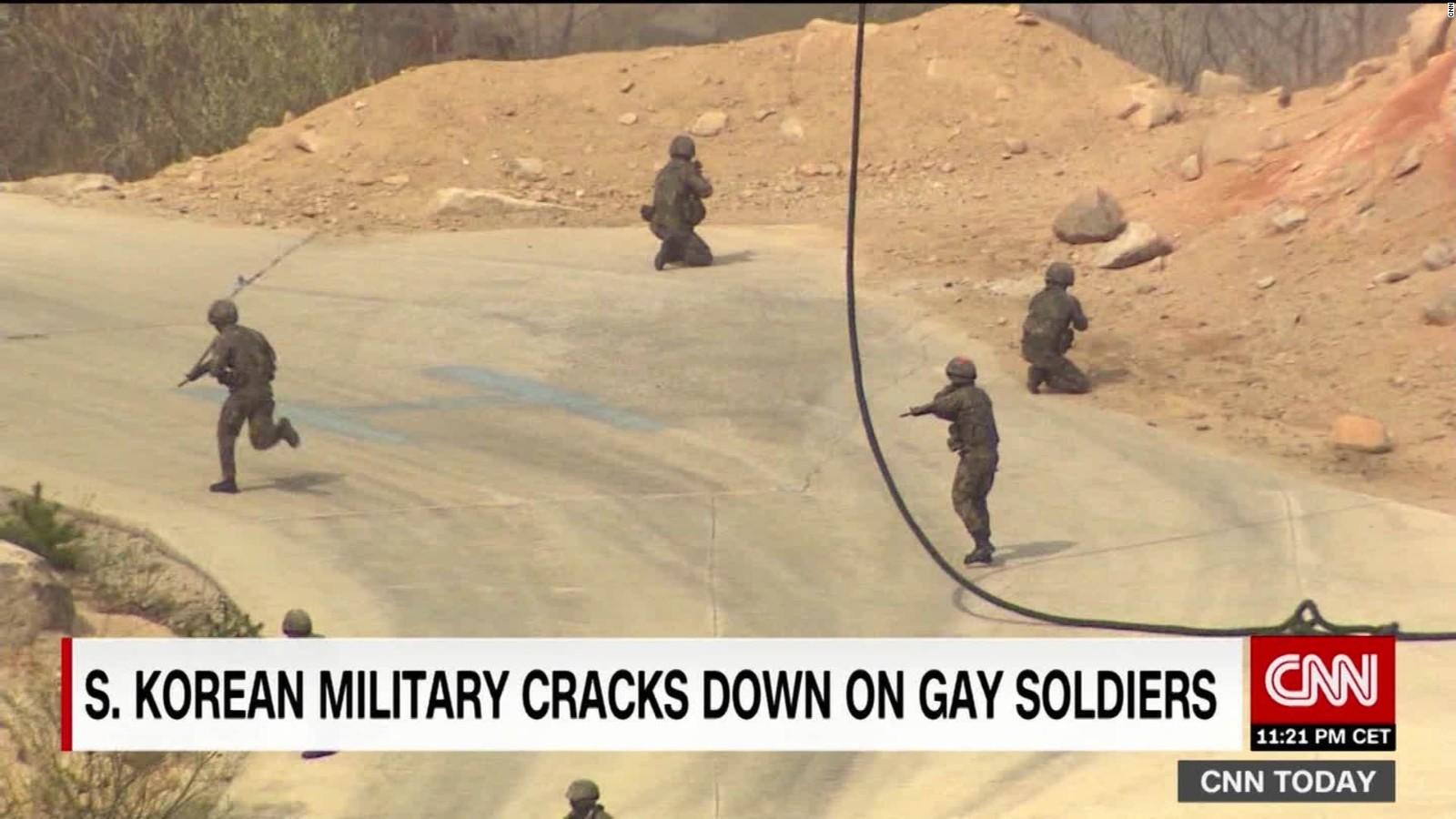 Gay military hookup