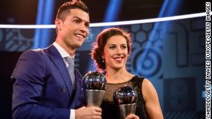 elegantes Aussehen 2019 original verfügbar US soccer star Carli Lloyd still dreams of Champions League ...