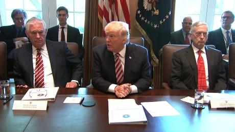 Nice President Trumpu0027s First Full Cabinet Meeting