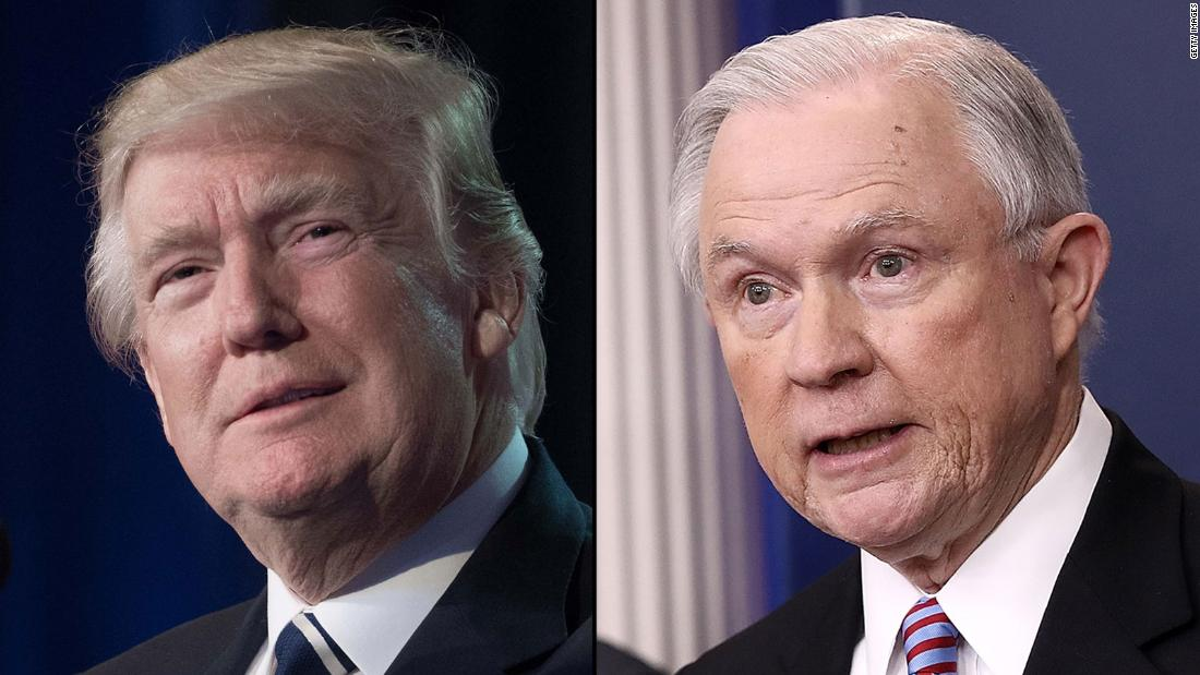 Senior administration officials complaining to Trump about Sessions' handling of border, official says
