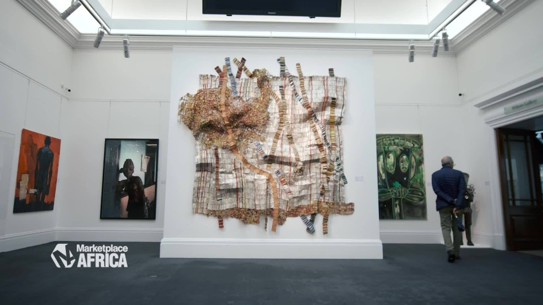 African art arrives on the big stage