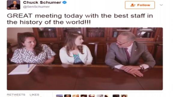 Schumer Trolls Trump