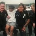 04 girl hugging cops
