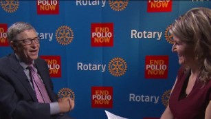 Bill Gates pledges $450 million to fight polio
