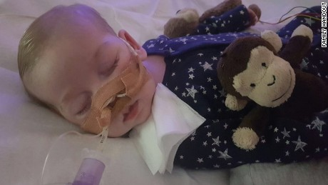 Charlie Gard has a rare genetic disorder known as mitochondrial DNA depletion syndrome.