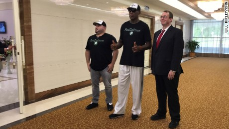 NBA Hall of Famer Dennis Rodman arrives in Pyongyang, North Korea for an unofficial visit, at a time of increased tensions between Washington and Pyongyang.