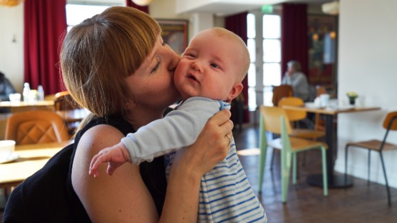 A 2017 report by Save the Children ranked 172 countries from best to worst in an effort to explore the main reasons why childhood comes to an early end in certain places. Here are countries that ranked highest and lowest.  Norway: A woman kisses her 4-month-old son in Oslo. Fewer than 0.3% of children die before the age of 5 in Norway.