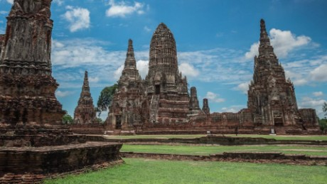 in 24 hours thailand former capital Ayutthaya_00000000