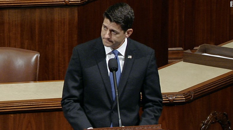 Speaker Ryan's message of congressional unity
