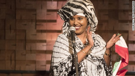 Sahra Halgan returned to Somaliland from France to open the country's only music venue in the capital Hargeisa.