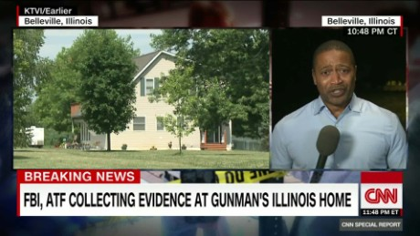 Evidence collected at gunman's Illinois home