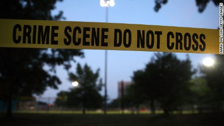 ALEXANDRIA, VA - JUNE 15: Crime scene tape surrounds the Eugene Simpson Field, the site where a gunman opened fire June 15, 2017 in Alexandria, Virginia. Multiple injuries were reported from the instance, the site where a congressional baseball team was holding an early morning practice, including House Republican Whip Steve Scalise (R-LA) who was shot in the hip.   (Photo by Mark Wilson/Getty Images)