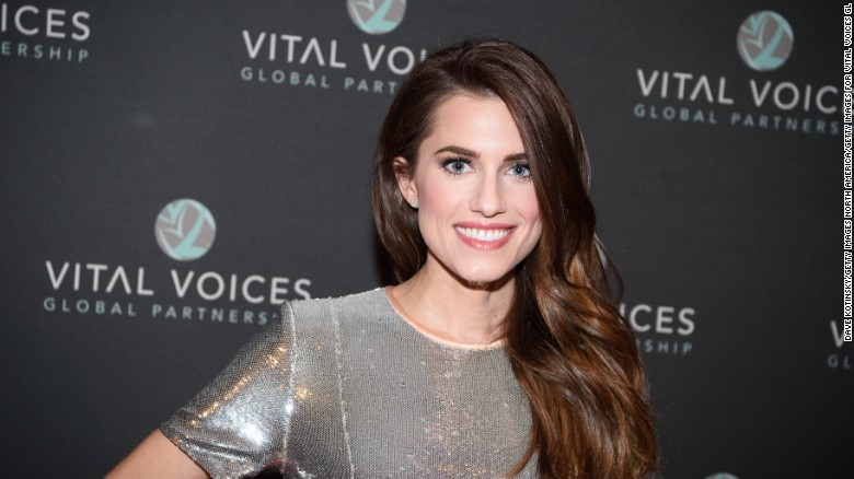 Allison Williams and husband