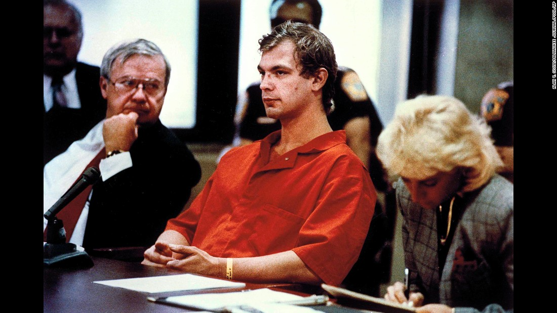 "After one of his would-be victims escaped from his home, serial killer Jeffrey Dahmer was arrested in July 1991 and later confessed to killing 17 men and boys. Dahmer was sentenced to 15 consecutive life sentences, but died in 1994 after <a href=""http://www.cnn.com/2015/04/30/us/feat-jeffrey-dahmer-killer-explanation/index.html"">a fellow prisoner beat him.</a>"