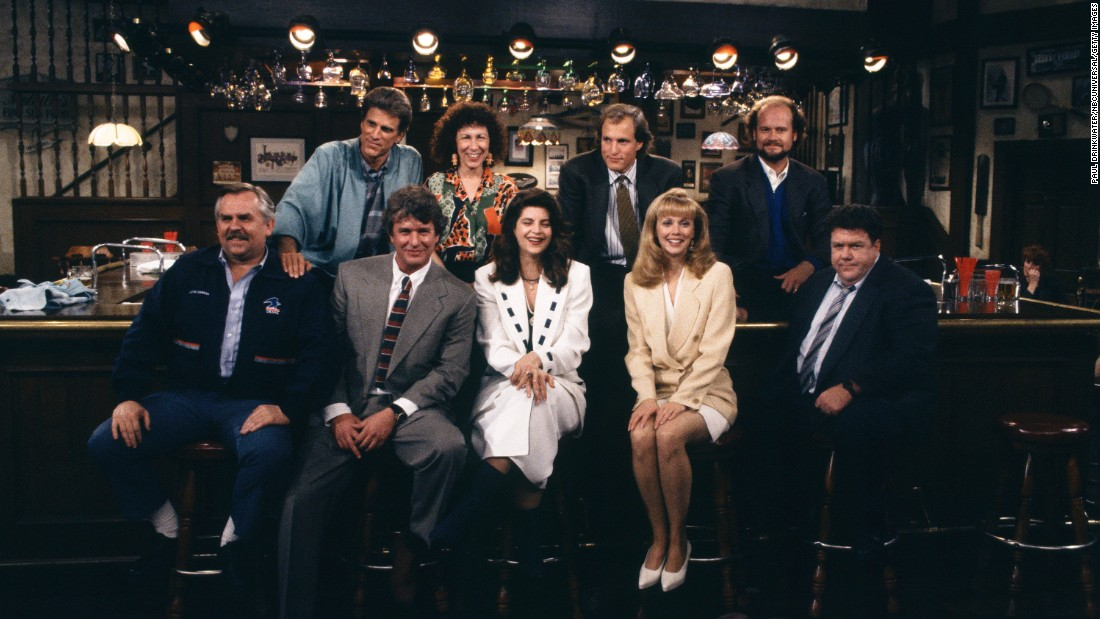 "After 11 seasons and 270 episodes, the final episode of ""Cheers,"" titled ""One for the Road,"" aired on May 20, 1993. The farewell for the beloved sitcom was watched by 84 million viewers, making it the second most-watched TV finale of all-time."