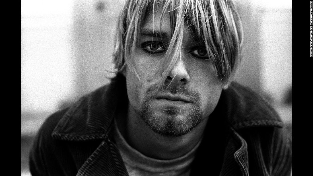 "Known for his distinctive growl, the Nirvana front man wrote some of the '90s' most memorable songs and propelled ""grunge"" to become the dominant musical genre of the decade. But for all his talent, Cobain's personal demons were too much to overcome. The singer battled depression and heroin addiction for years before <a href=""http://www.cnn.com/2016/03/18/entertainment/cobain-suicide-shotgun-picture-released/index.html"">his suicide on April 5, 1994.</a> He was 27."