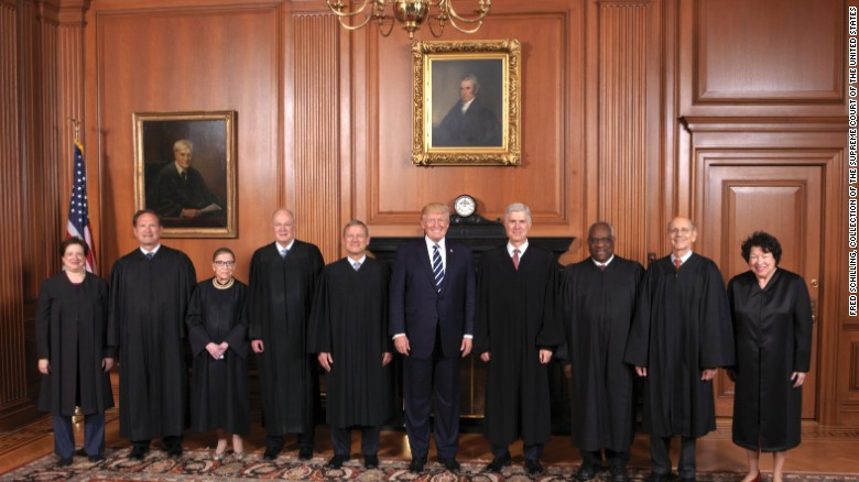 A four-year timeline of Donald Trump and the Supreme Court