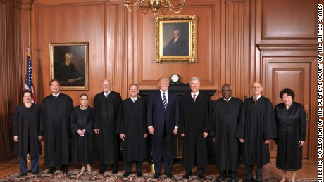 The Supreme Court held a special sitting on June 15, 2017, for the formal investiture ceremony of Associate Justice Neil M. Gorsuch.  President Donald J. Trump and First Lady Melania Trump attended as guests of the Court.